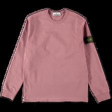 Stone Island Heavy L/S T-Shirt 741564450 V0086  - ROSE QUARTZ