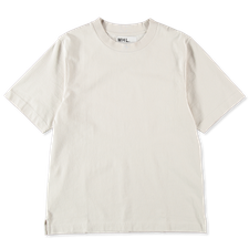 Margaret Howell MHL S/S Wide Crew Neck - Natural