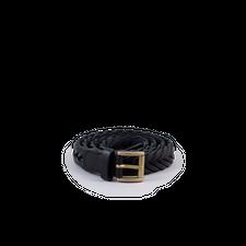 Anderson's Skinny Braided Belt - Black