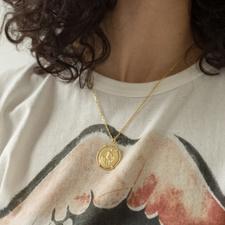 Anni Lu Born To Love Necklace - Gold