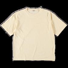 Camoshita Pile Crew Neck T-Shirt - Yellow