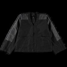 Comme des Garçons Comme des Garçons Boxy Arm Patch Jacket - Black