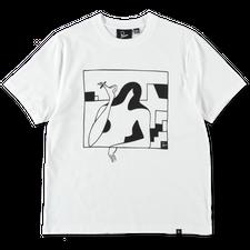 Parra                                              Lockdown T-Shirt - White
