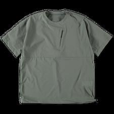 Snow Peak DWR Light Tshirt - Greykhaki
