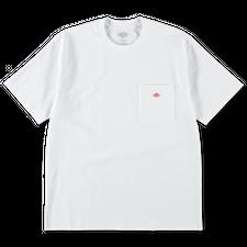 Danton                                             Solid Pocket T - White