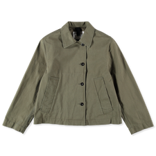 Margaret Howell MHL Asymmetric Slant Pocket Jacket - Green