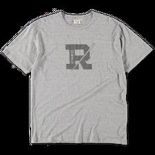 orSlow R Print T-Shirt - Heather Grey