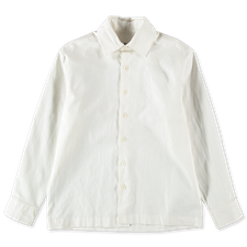 Evan Kinori                                        Flat Hem Shirt - Natural