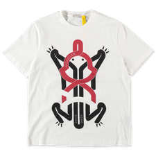 Moncler Genius                                     Craig Green T-Shirt With Frog Graphic - White