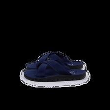 Island Slipper Ultra Suede Slide - Navy