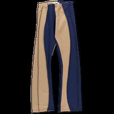 Kerne.Milk                                         Alona Pants - Beige / Navy