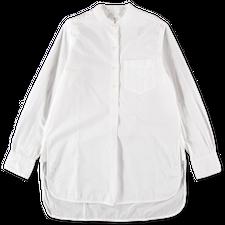 Toast                                              Taro Cotton Oxford Shirt - White