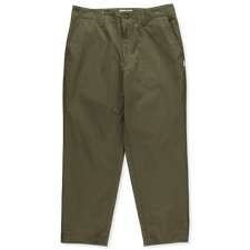 WTAPS FAIRWAY/ TROUSERS / COTTON. WEATHER - Olive Drab