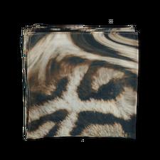 Clyde Chiffon Scarf - Cheetah