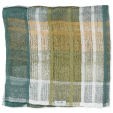 Clyde Loomed Scarf - Field