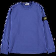Stone Island Heavy L/S T-Shirt - 751564450 - V0043 - Periwinkle