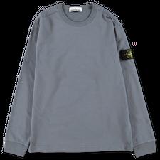 Stone Island Heavy L/S T-Shirt - 751564450 - V0046 - Mid Blue