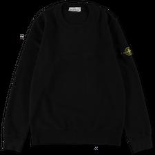 Stone Island Brushed Fleece Sweatshirt 751563020 V0029 - Black