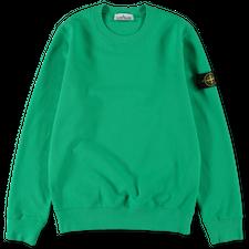 Stone Island Brushed Fleece Sweatshirt 751563020 V0050 - Green
