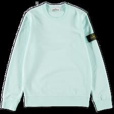 Stone Island Brushed Fleece Sweatshirt 751563020 V0052 - Light Green