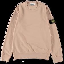 Stone Island Brushed Fleece Sweatshirt 751563020 V0082 - Antique Rose
