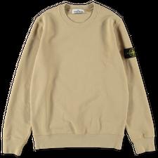 Stone Island Brushed Fleece Sweatshirt 751563020 V0091 - Natural Beige