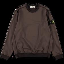 Stone Island Ny/Co Fleece Sweatshirt 751563547 V0070 - Dark Brown