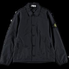 Stone Island Primaloft Button Overshirt 751511525 V0020 - Navy Blue