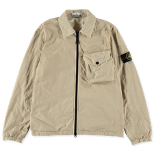 Stone Island Naslan Polartec Zip Shirt 751511803 V0091 - Natural Beige