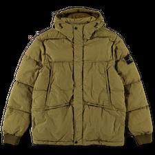 Stone Island Nylon Metal GD Hooded Down Jacket 751544508 V0098 - Dark Beige
