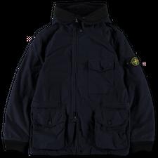 Stone Island David Light TC Hooded Jacket 751541131 V0026 - Ink