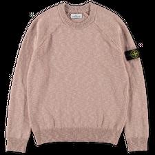 Stone Island Co/Wo Melange CN Sweater 7515510D3 V0082 - Antique Rose