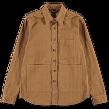 Aspesi UT Pocket Overshirt - Tobacco