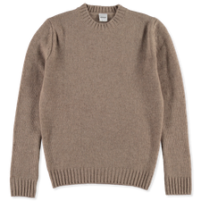 Aspesi Knitted Crew Neck - Dove Grey
