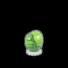 Carl Cyrén                                         Glass Sculpture - Green