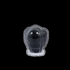 Carl Cyrén                                         Glass Sculpture - Black