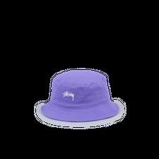 Stüssy Stock Bucket Hat - Violet