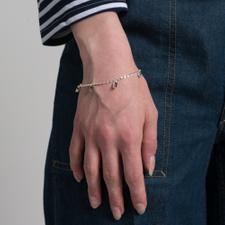 Cornelia Webb Warped Bracelet M - Sterling Silver