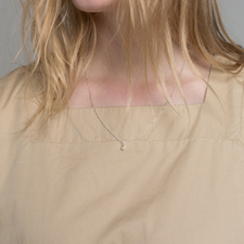 Cornelia Webb Classic Pearled Necklace S - Sterling Silver
