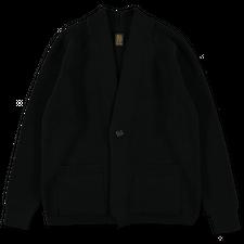Batoner Signature Shawl Collar Cardigan - Black