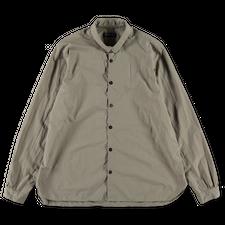Bergfabel                                          Loose Paper Cotton Tyrol Shirt - Grey