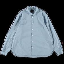 Bergfabel                                          Loose Paper Cotton Tyrol Shirt - Light Blue