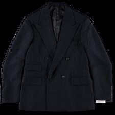 Camoshita 4B Double Breasted Jacket - Navy