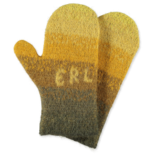 ERL                                                Faded Wool Gloves - Yellow
