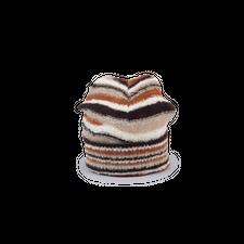 ERL                                                Striped Beanie Knit - Brown
