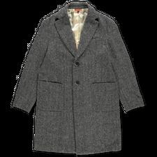 Barena Venezia Baron Coat - Black/Grey