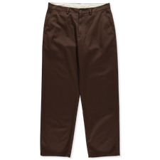 Nitty Gritty® Made in Italy                        Washed Twill Chino Pant - Brown
