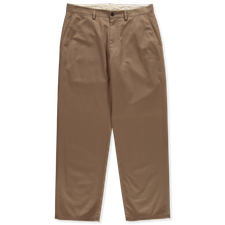 Nitty Gritty® Made in Italy                        Washed Twill Chino Pant - Fawn