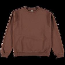 Baserange Loose Sweatshirt - Loam Brown