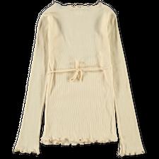 Baserange Kosa Wrap Long Sleeve - Ecru
